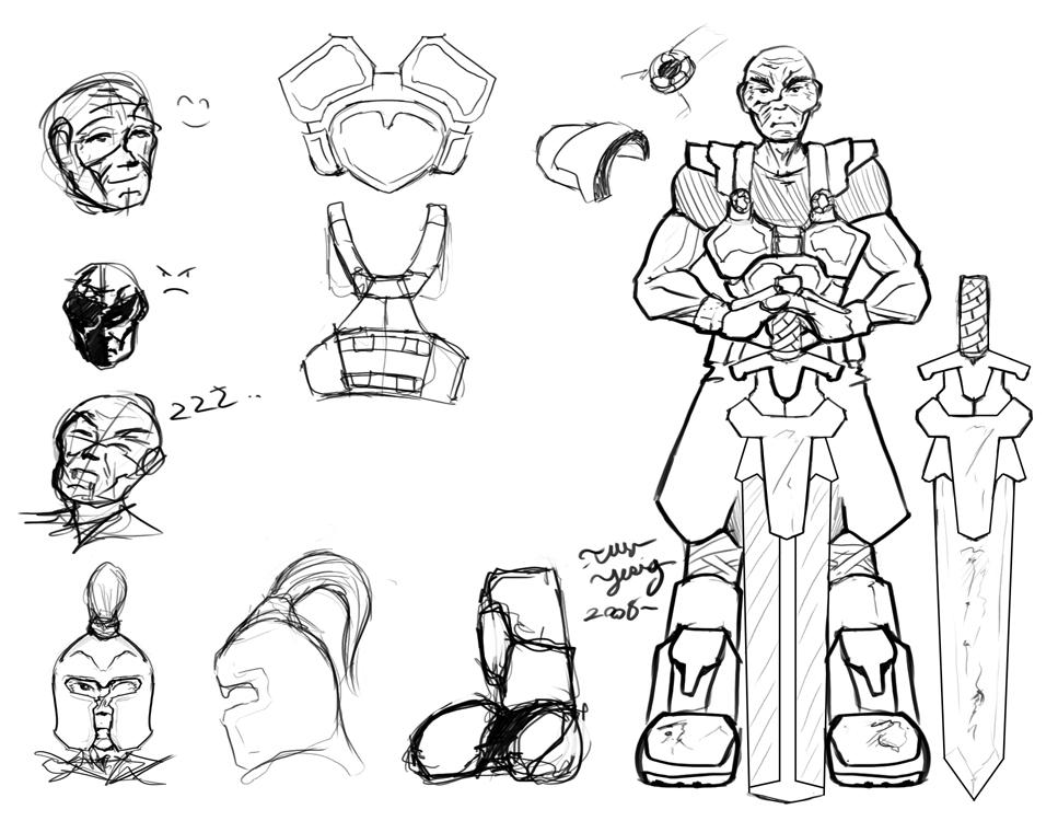 Character Design Freelance Job : Sub gallery freelance character design